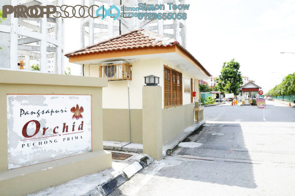 For Sale Apartment at Taman Puchong Prima, Puchong Freehold Unfurnished 3R/2B 270k