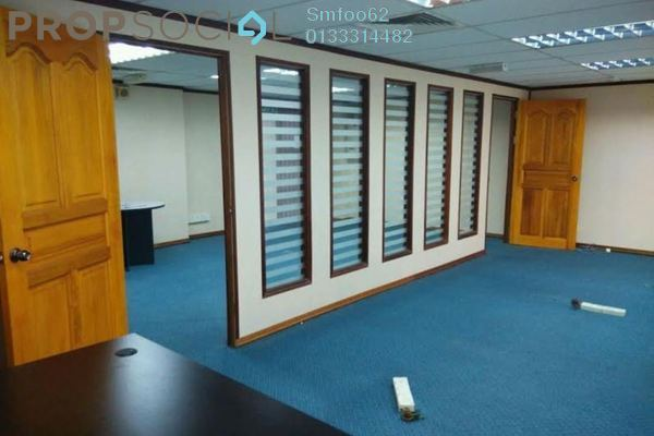 For Sale Office at Plaza 138, KLCC Freehold Semi Furnished 0R/0B 600k