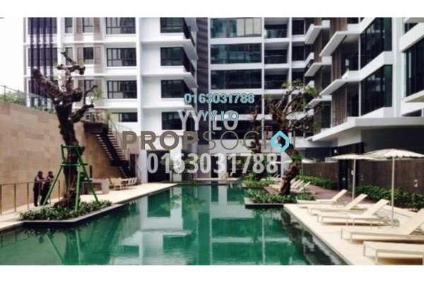For Rent Condominium at Sastra U-Thant, Ampang Hilir Freehold Semi Furnished 4R/4B 7k
