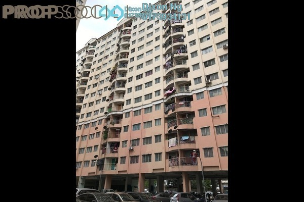For Rent Apartment at Taman Wangsa Permai, Kepong Leasehold Semi Furnished 3R/2B 700translationmissing:en.pricing.unit