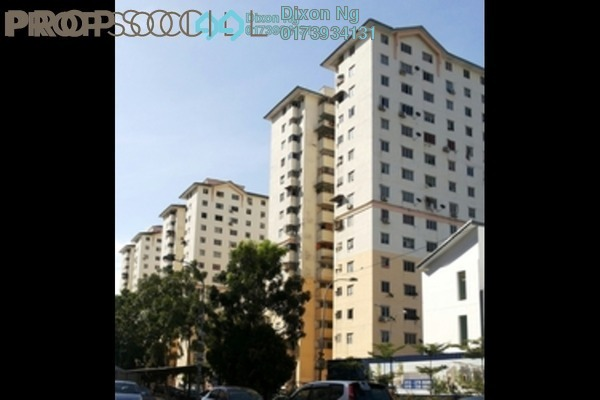 For Sale Apartment at Sri Rakyat Apartment, Bukit Jalil Freehold Semi Furnished 3R/2B 210k
