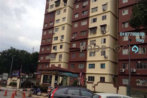 For Rent Apartment at Cemara Apartment, Bandar Sri Permaisuri Freehold Semi Furnished 3R/2B 1.2k