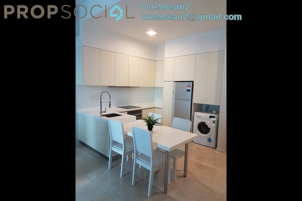 For Rent Condominium at KL Eco City, Mid Valley City Freehold Fully Furnished 1R/1B 3k