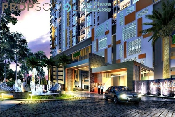 For Sale Condominium at Parkhill Residence, Bukit Jalil Freehold Semi Furnished 3R/2B 590k