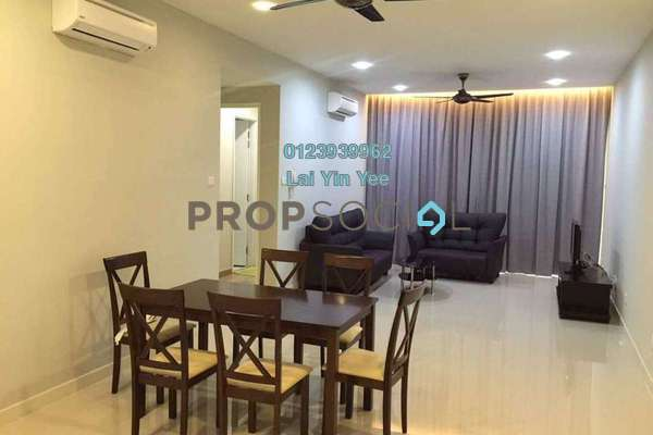 For Rent Condominium at Le Yuan Residence, Kuchai Lama Freehold Semi Furnished 3R/2B 2.1k
