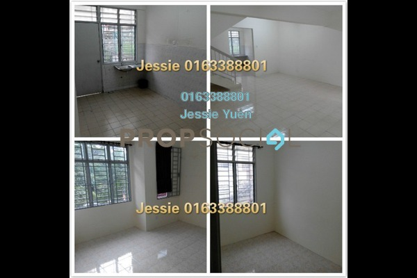 For Rent Terrace at Taman Bukit Permai, Cheras Freehold Unfurnished 4R/3B 1.5k