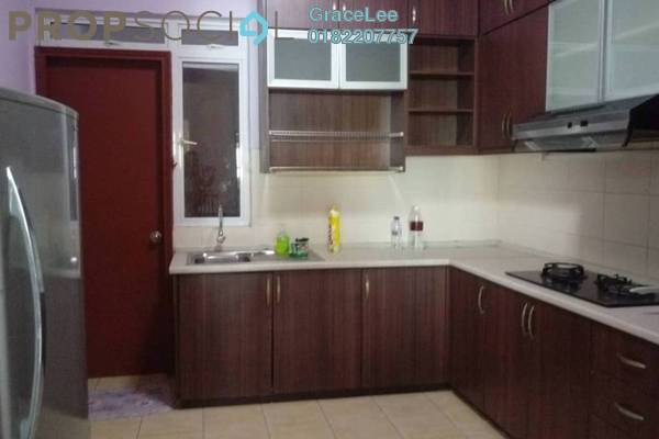 For Rent Condominium at Wangsa Baiduri, Subang Jaya Freehold Fully Furnished 4R/3B 2.5k