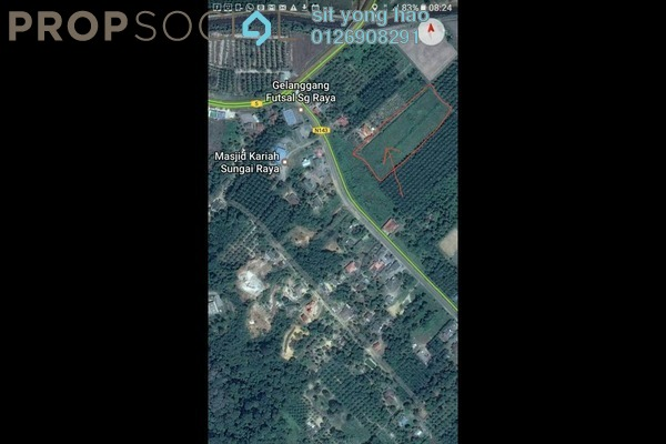 For Sale Land at Kampung Sungai Raya, Negeri Sembilan Freehold Unfurnished 0R/0B 580k
