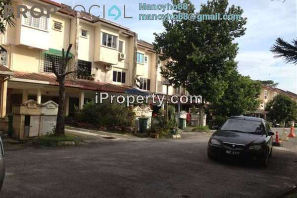 For Rent Terrace at Bukit OUG Townhouse, Bukit Jalil Freehold Fully Furnished 3R/2B 1.8k