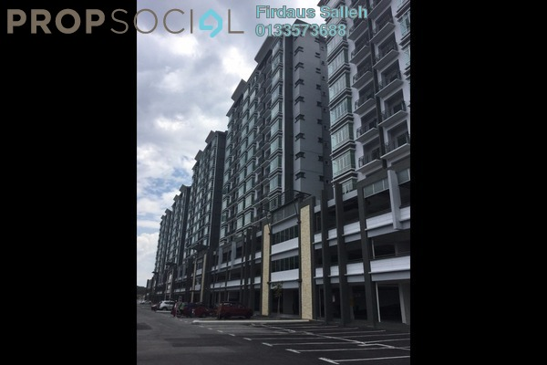 For Rent Apartment at Damai Apartment, Shah Alam Leasehold Unfurnished 3R/2B 1.3k