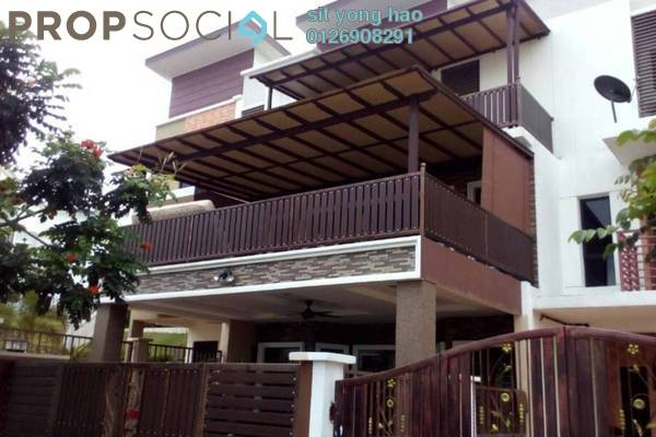 For Sale Terrace at Bandar Saujana Utama, Sungai Buloh Freehold Fully Furnished 5R/3B 750k