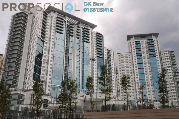 For Rent Condominium at Surian Residences, Mutiara Damansara Freehold Semi Furnished 4R/4B 3.8k