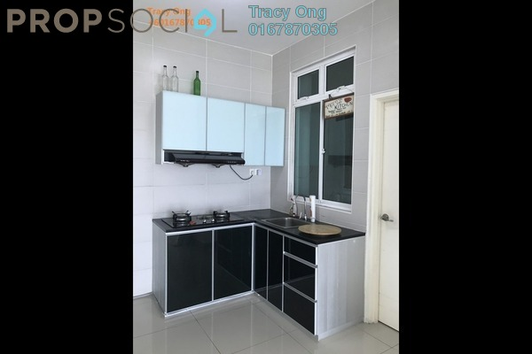 For Rent Apartment at Taman Perling, Iskandar Puteri (Nusajaya) Freehold Semi Furnished 3R/2B 1.6k