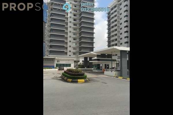 For Rent Condominium at Kiara Residence 2, Bukit Jalil Freehold Semi Furnished 3R/2B 1.9k