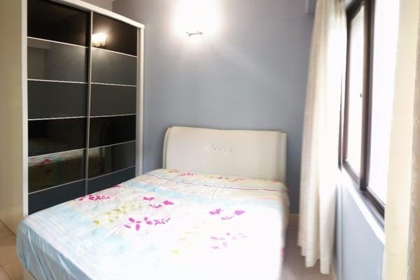 For Sale Condominium at Casa Kiara I, Mont Kiara Freehold Fully Furnished 3R/2B 760k
