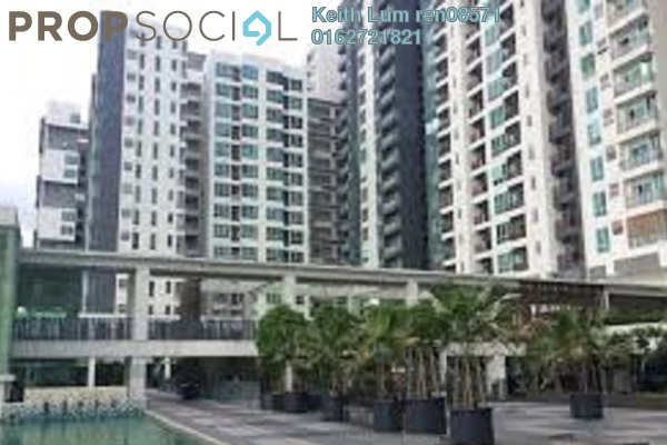 For Rent Condominium at ZetaPark, Setapak Freehold Fully Furnished 2R/2B 1.8k