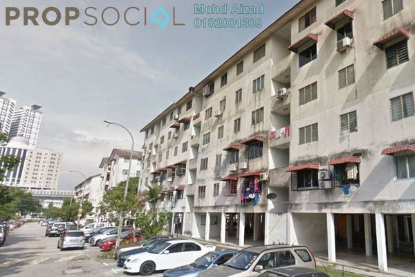 For Sale Apartment at Gugusan Seroja, Kota Damansara Leasehold Unfurnished 3R/2B 180k