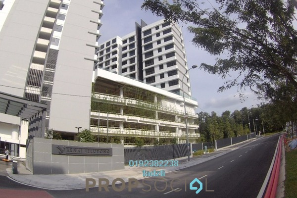 For Sale Condominium at Skyz Jelutong Residences, Bukit Jelutong Freehold Semi Furnished 2R/2B 720k