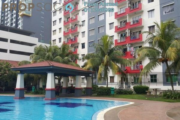 For Sale Apartment at Vista Pinggiran, Bandar Putra Permai Freehold Unfurnished 3R/2B 285k