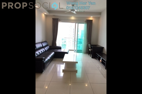 For Rent Condominium at Glomac Damansara, TTDI Freehold Semi Furnished 3R/2B 2.85k