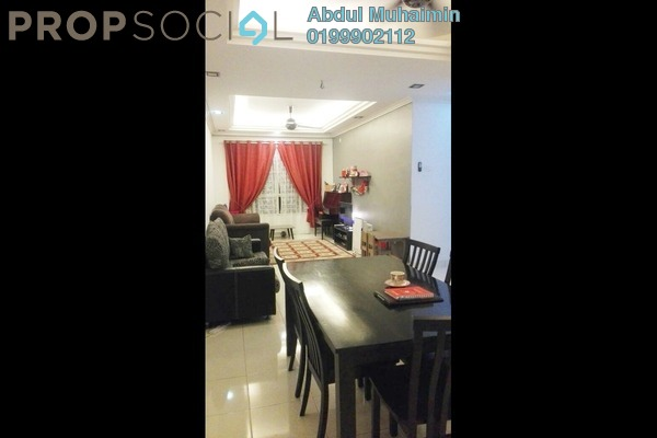 For Sale Condominium at Banjaria Court, Batu Caves Leasehold Fully Furnished 3R/2B 450k