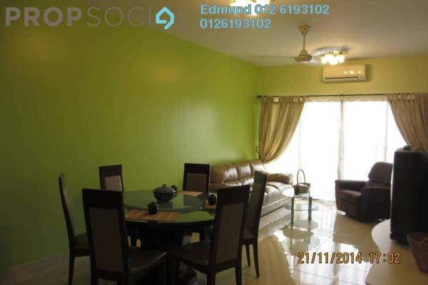 For Rent Condominium at Pelangi Utama, Bandar Utama Freehold Fully Furnished 3R/2B 2.3k