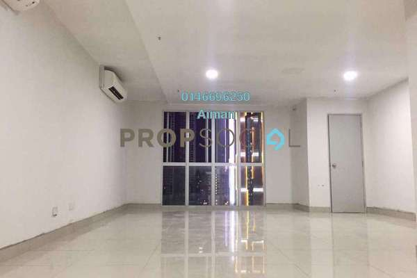 For Rent SoHo/Studio at i-City, Shah Alam Freehold Semi Furnished 0R/1B 1k