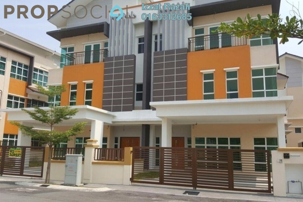 For Sale Semi-Detached at Lake Valley, Bandar Tun Hussein Onn Freehold Unfurnished 6R/7B 2.15m