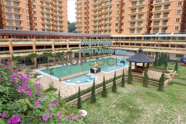 For Sale Condominium at Platinum Hill PV6, Setapak Freehold Semi Furnished 4R/2B 495k