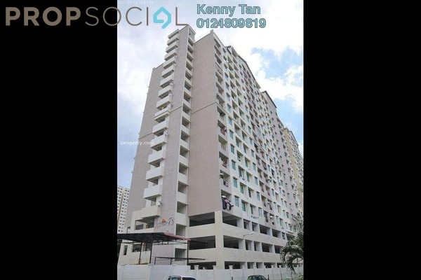 For Sale Apartment at Casa Impian, Jelutong Freehold Semi Furnished 3R/2B 460k