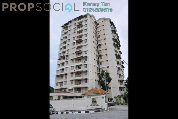 For Sale Apartment at Hillside Garden, Tanjung Bungah Freehold Fully Furnished 3R/2B 470k