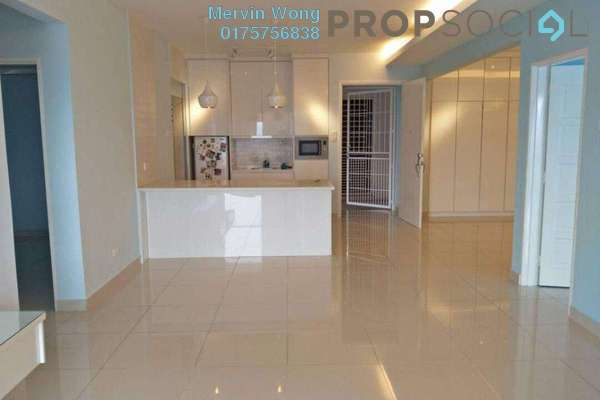 For Rent Condominium at Platinum Hill PV2, Setapak Freehold Semi Furnished 3R/2B 2.5k