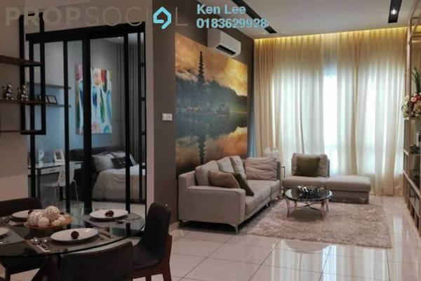 For Sale Serviced Residence at Kiara Plaza, Semenyih Freehold Unfurnished 3R/2B 378k