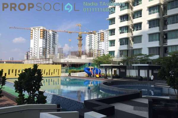 For Rent Condominium at Vega Residensi, Cyberjaya Freehold Semi Furnished 3R/2B 1.5k
