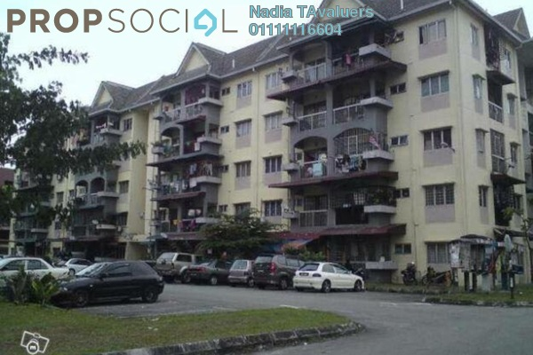 For Rent Apartment at Andorra Apartment, Shah Alam Freehold Unfurnished 2R/1B 750translationmissing:en.pricing.unit