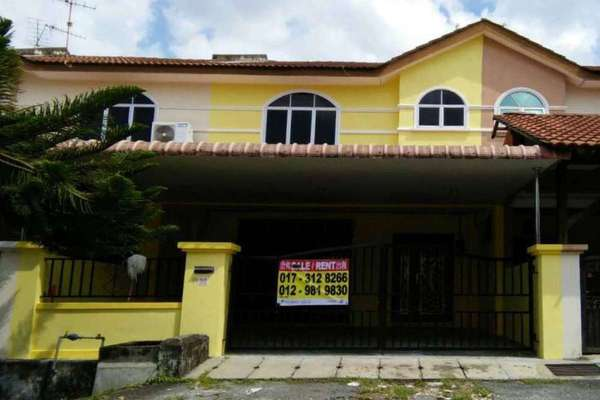 For Rent Terrace at Taman Tasek Jaya, Ipoh Freehold Unfurnished 4R/3B 900translationmissing:en.pricing.unit