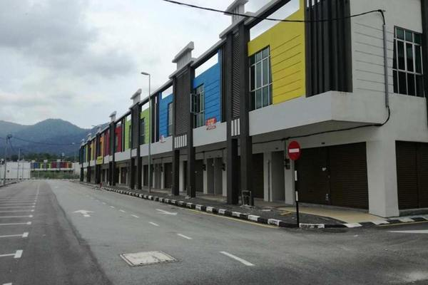 For Rent Shop at Jelapang Baru, Ipoh Freehold Unfurnished 0R/2B 2.8k