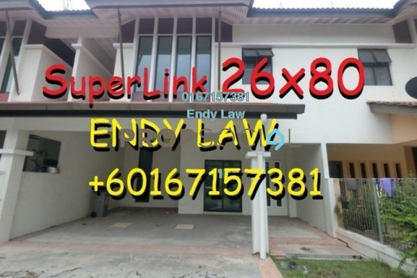 For Sale Terrace at Taman Banang Ria, Batu Pahat Freehold Semi Furnished 6R/5B 800k