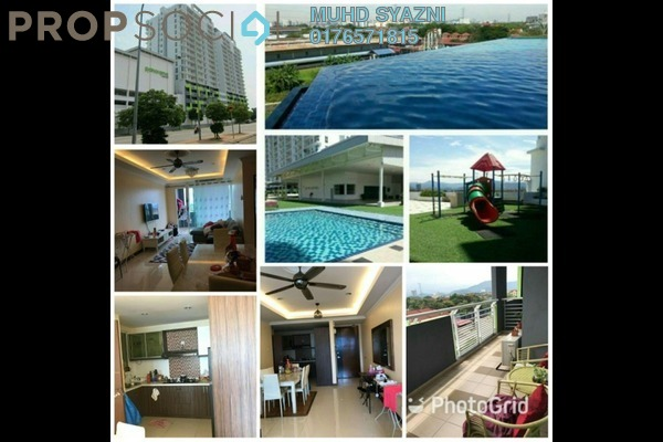For Sale Condominium at Panorama Residences, Sentul Freehold Fully Furnished 3R/2B 580k