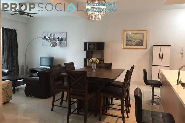 For Sale Condominium at Royal Regent, Dutamas Freehold Fully Furnished 3R/2B 840k