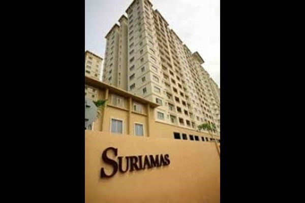 For Rent Condominium at SuriaMas, Bandar Sunway Freehold Fully Furnished 4R/2B 1.9k
