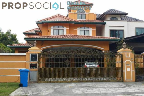 For Sale Semi-Detached at Canal Gardens, Kota Kemuning Freehold Fully Furnished 5R/5B 2.66m