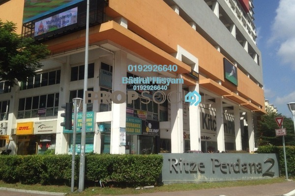 For Rent Shop at Ritze Perdana 2, Damansara Perdana Freehold Unfurnished 0R/0B 4.5k