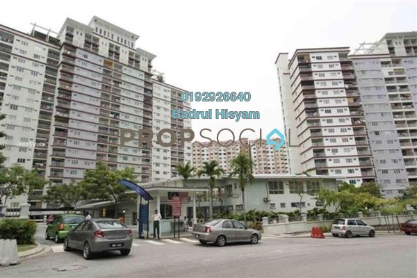For Sale Condominium at Vista Amani, Bandar Sri Permaisuri Leasehold Semi Furnished 4R/2B 430k