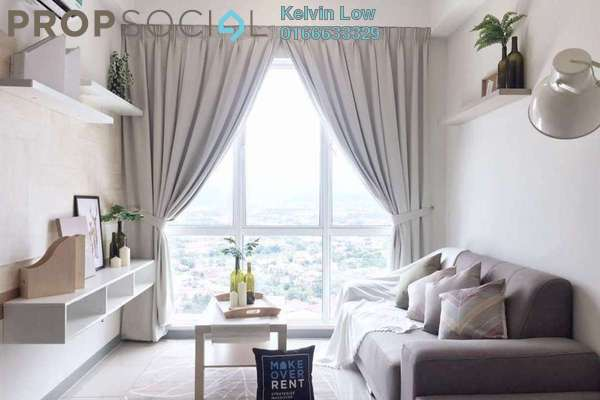 For Sale Condominium at Residensi Gombak 126, Setapak Freehold Fully Furnished 2R/2B 430k