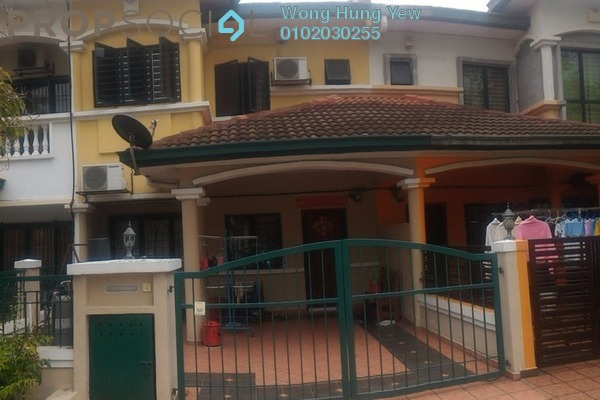 For Rent Terrace at Taman Puchong Prima, Puchong Freehold Semi Furnished 4R/3B 1.4k