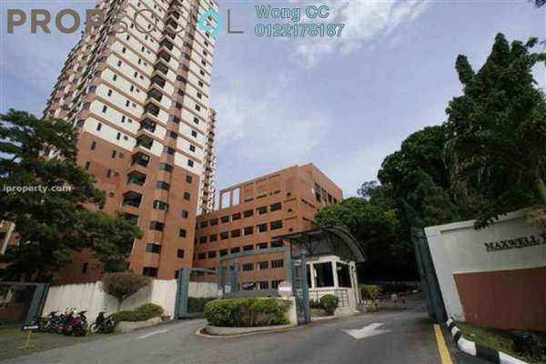 For Rent Condominium at Maxwell Towers, Gasing Heights Freehold Semi Furnished 3R/3B 2k