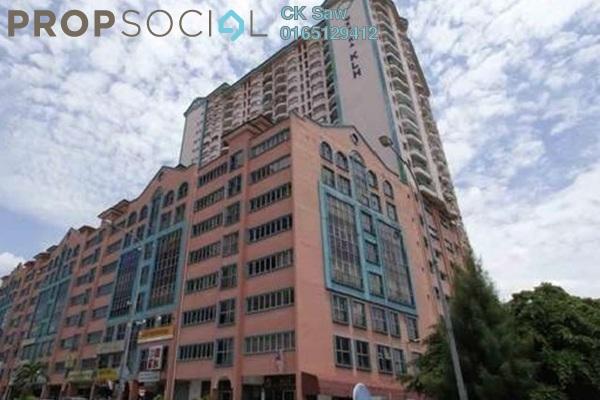 For Rent Condominium at Menara KLH, Sentul Freehold Semi Furnished 3R/2B 1.5k