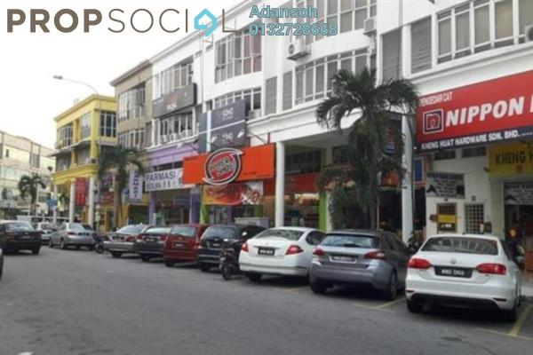 For Rent Shop at Medan Idaman Business Centre, Setapak Freehold Unfurnished 0R/2B 1.6k