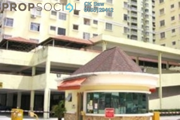 For Rent Condominium at Platinum Hill PV3, Setapak Freehold Semi Furnished 4R/2B 1.45k